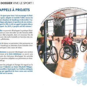 MAS & éducation par le sport, on en parle